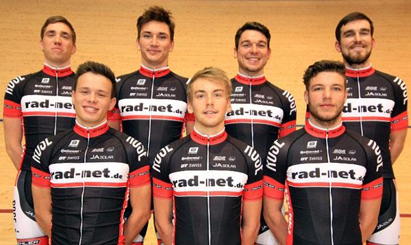 Gleich sieben Fahrer des rad-net ROSE Teams starten ab morgen bei der Bahn-WM.