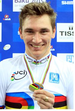 Lucas Liß ist Weltmeister im Scratch